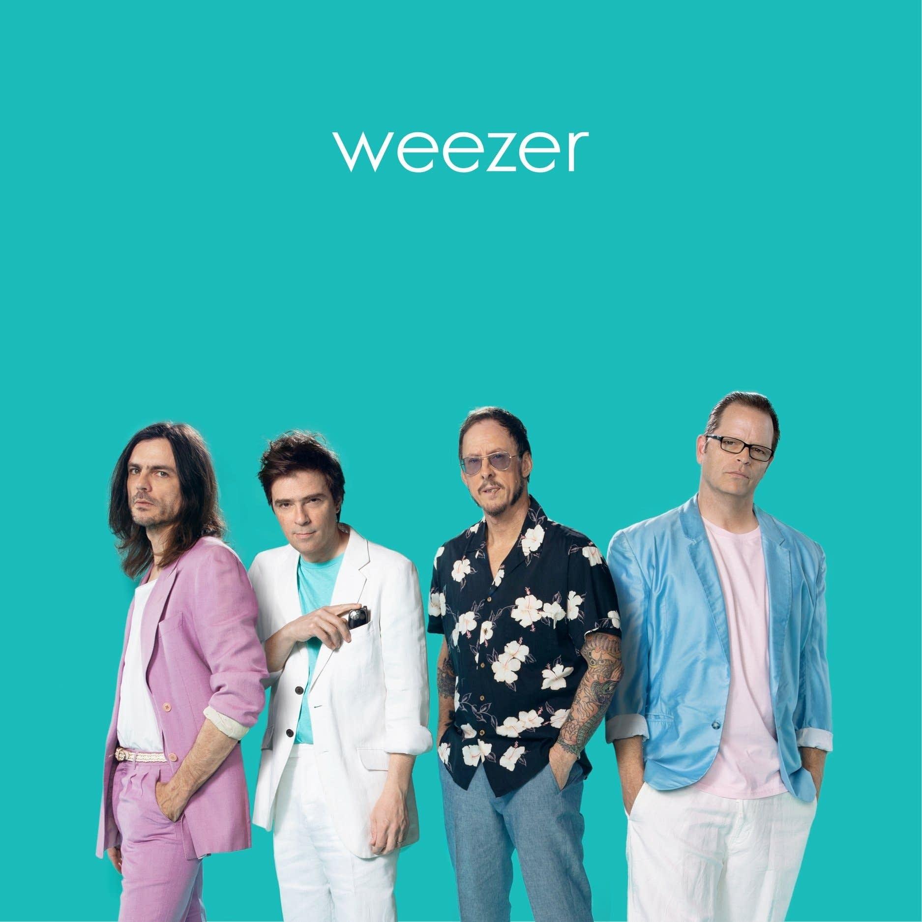 Weezer's 'Teal Album' cover art.