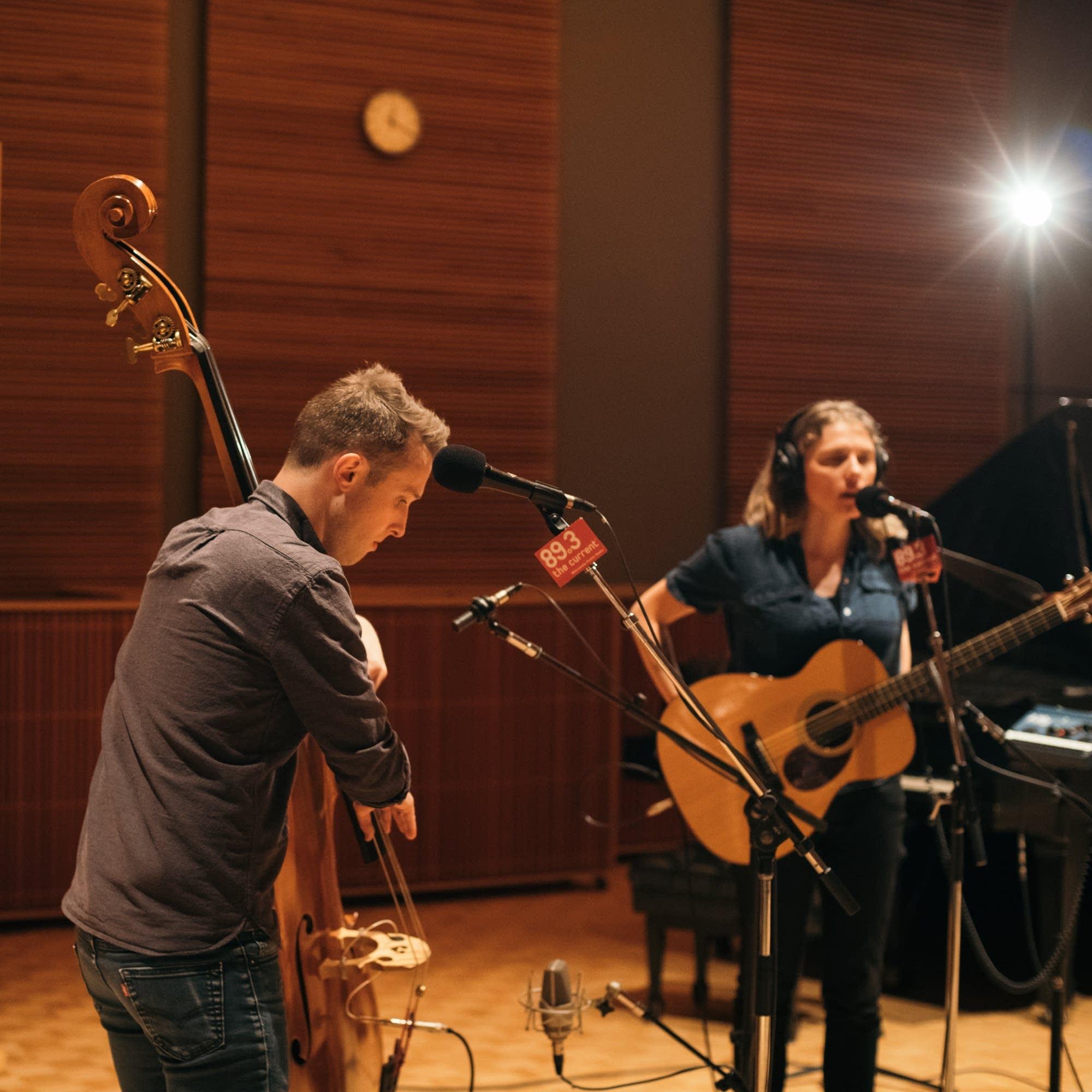 Dead Horses perform in the Radio Heartland studio