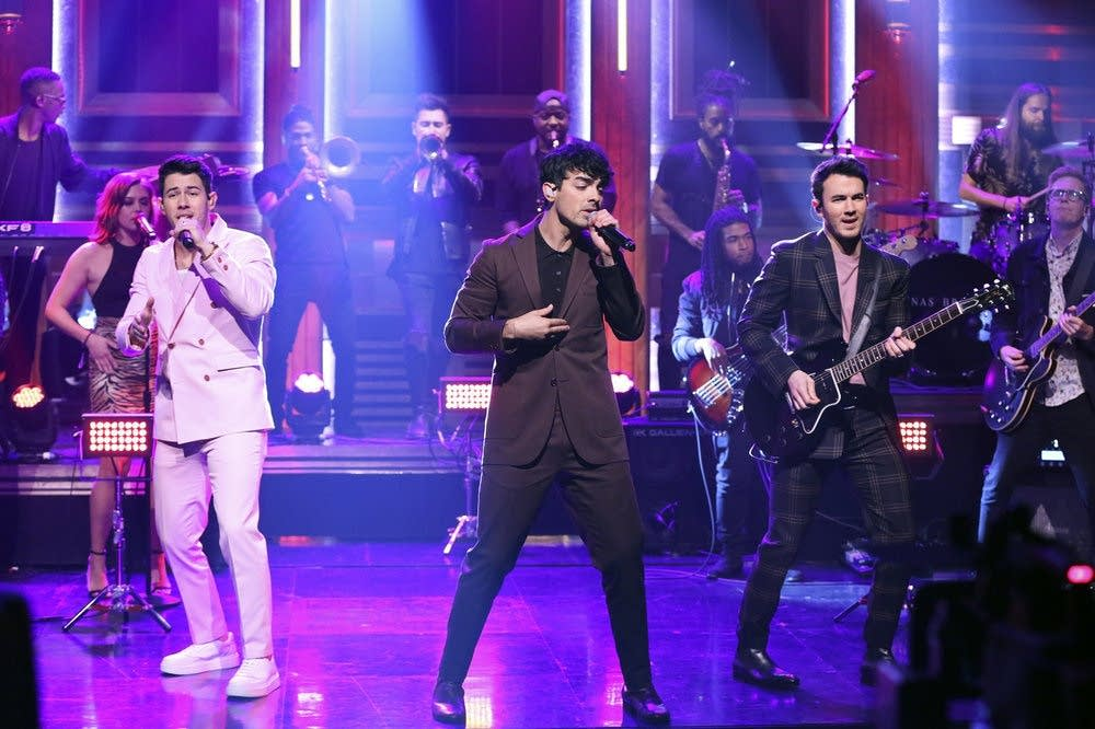 The Jonas Brothers on The Tonight Show Starring Jimmy Fallon