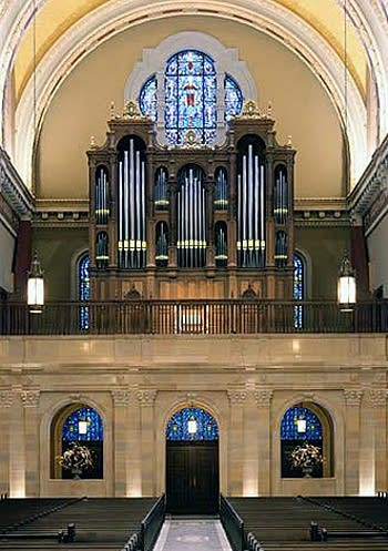 2003 Pasi organ at the Cathedral of Saint Cecilia, Omaha, NE