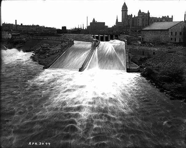 St. Anthony Falls, August 1899