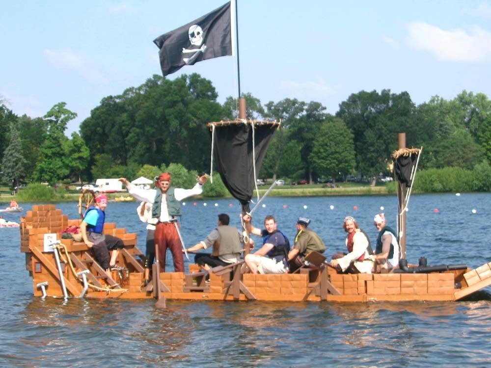 Heintz's boat in 2005