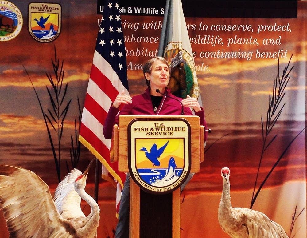 U.S. Interior Secretary Sally Jewell