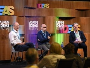 A panel at the Aspen Ideas Festival,