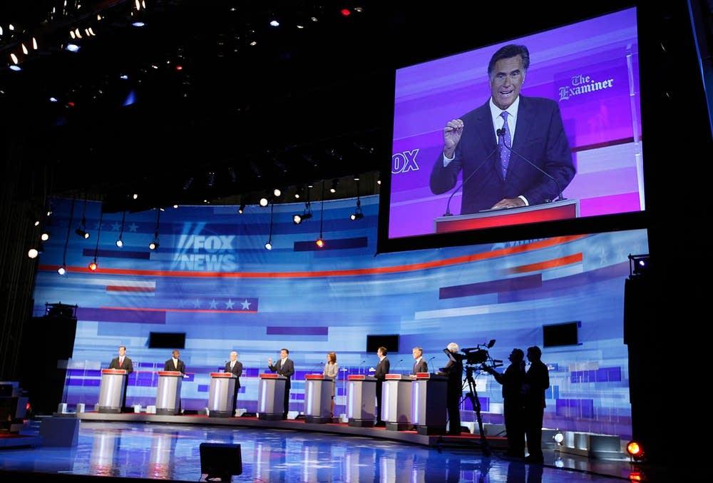 GOP candidates debate