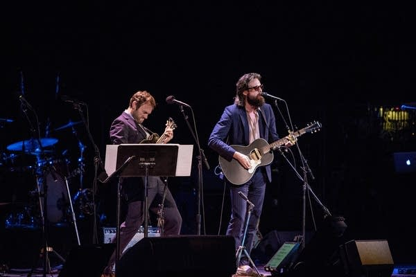 Chris Thile and Father John Misty