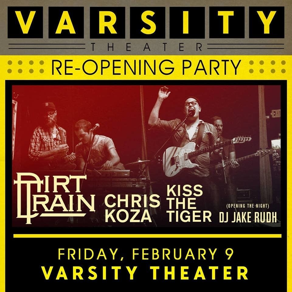 Varsity Theater Re-Opening party