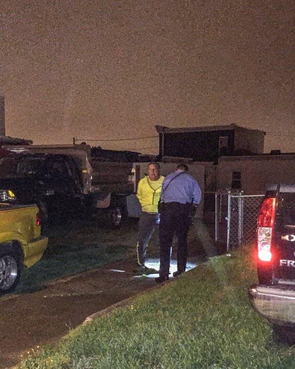 Philadelphia arrest scene