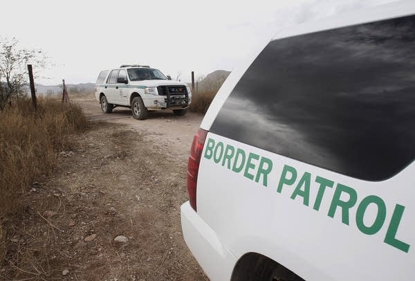 U.S. Border Patrol vehicles
