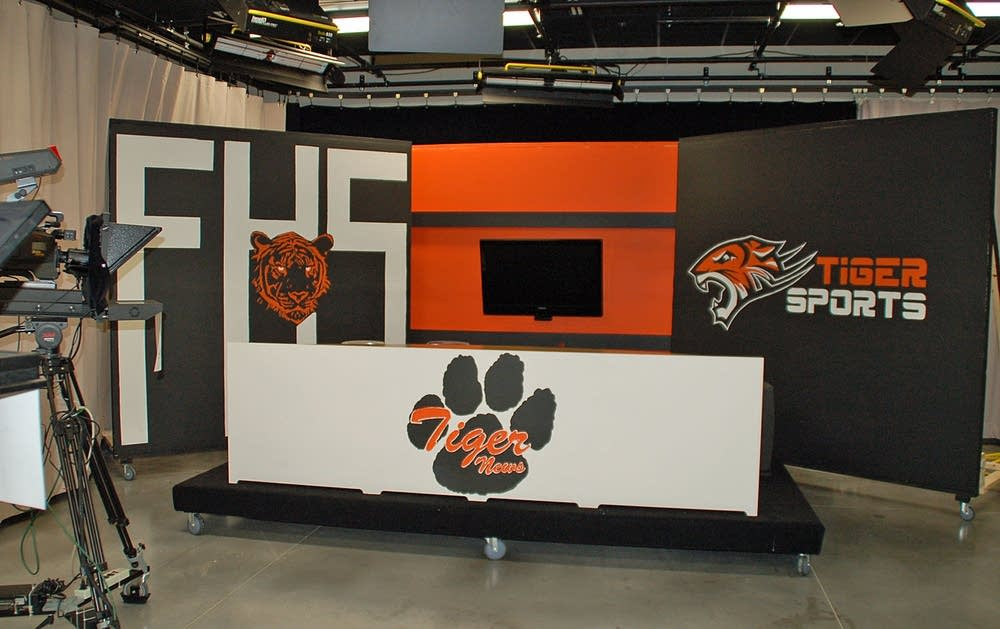 Farmington High TV studio