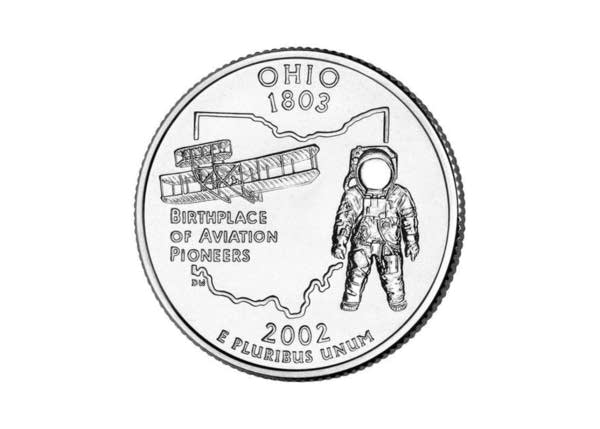 The 2002 Ohio Quarter