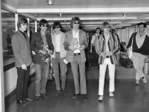Rolling Stones At London Airport in 1966