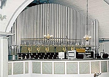 1938 Kangasala organ at the Cathedral, Lapua, Finland