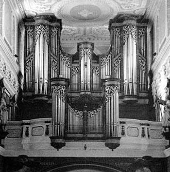 1983 Sandtner organ at the Cathedral of Our Lady, Villingen, Germany