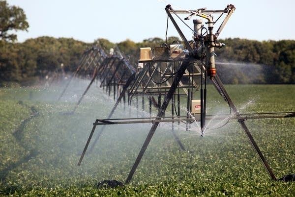 Center-pivot irrigator