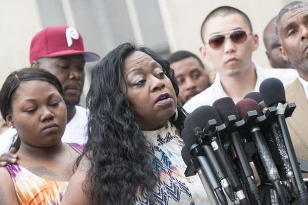 Valerie Castile, mother of Philando Castile speaks