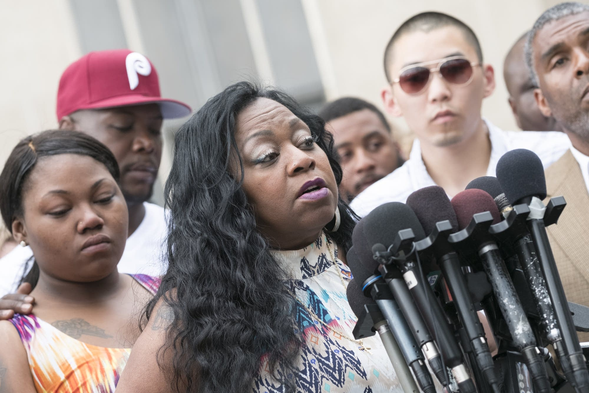 Valerie Castile mother of Philando Castile speaks