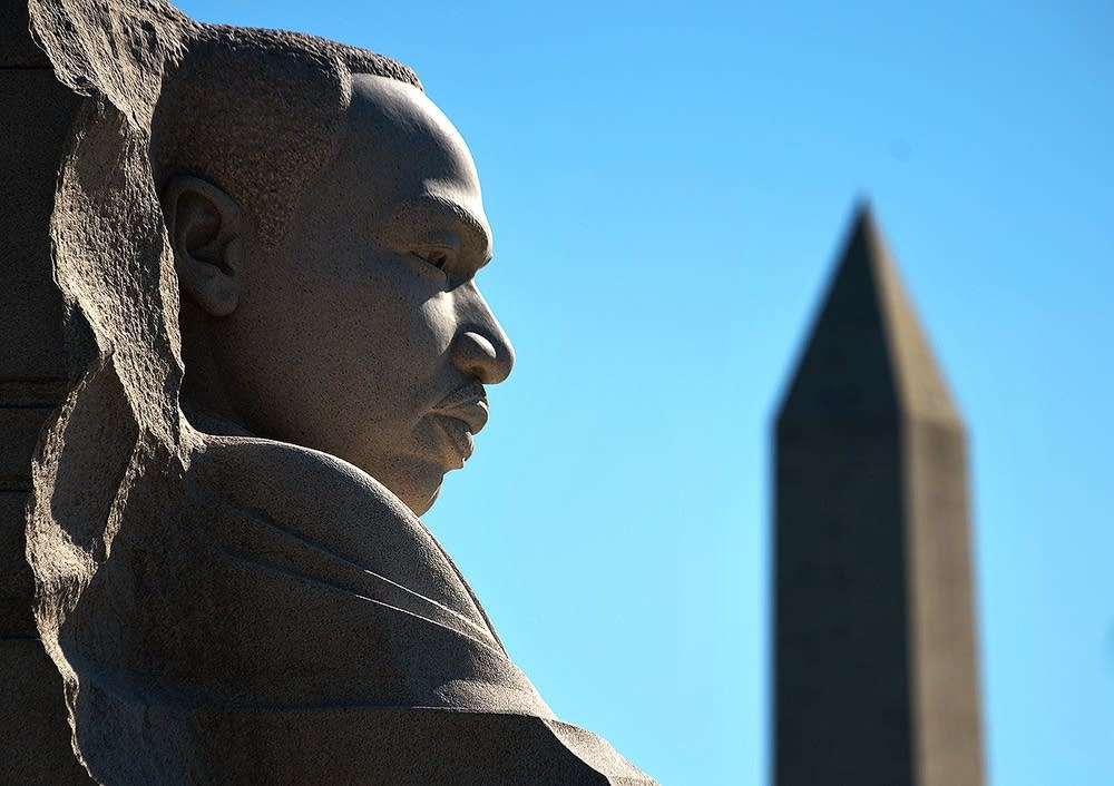 Martin Luther King Jr. sculpture