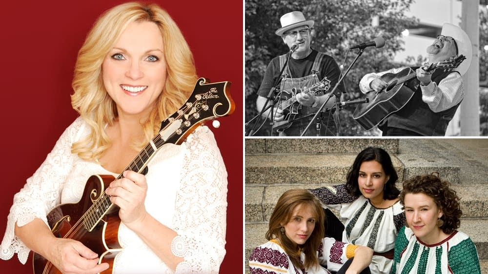 Rhonda Vincent, Mike Compton & Joe Newberry, The Nightingale Trio