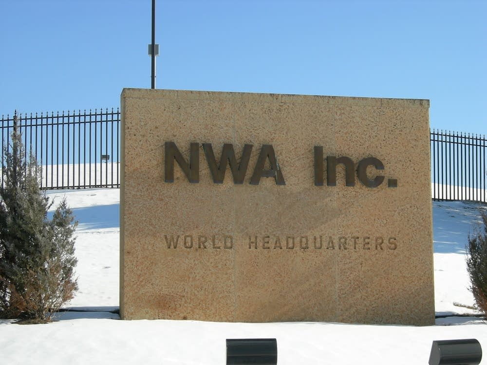 Northwest headquarters in Eagan