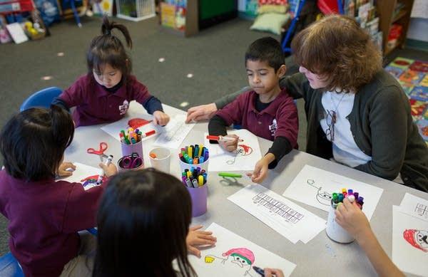 Working with pre-kindergarten students