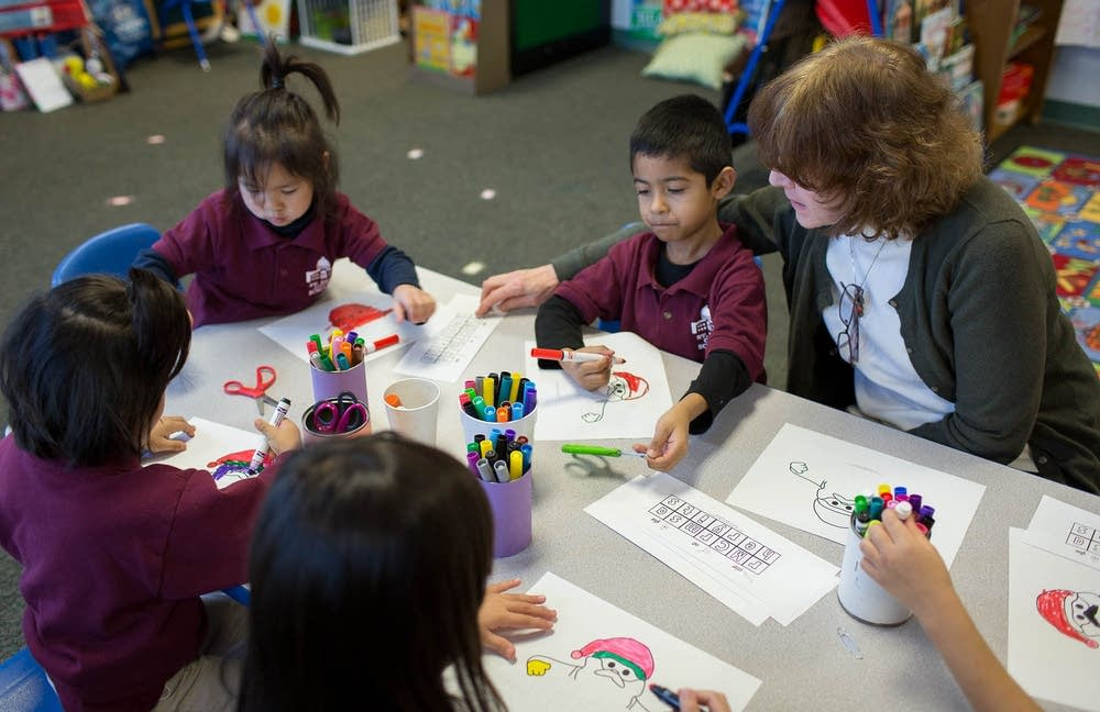 Working with pre-kindergarten students