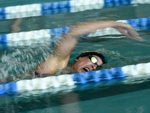 Paralympic swimmer Mallory Weggemann