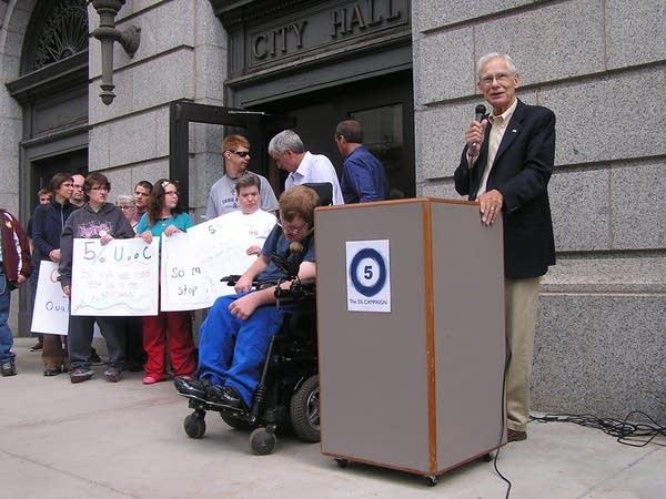 State Rep. Tom Huntley, DFL-Duluth