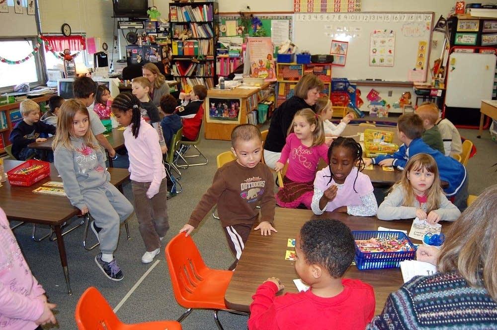 Kindgergarten class
