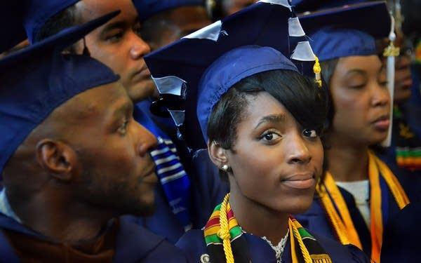 Howard University graduation ceremony