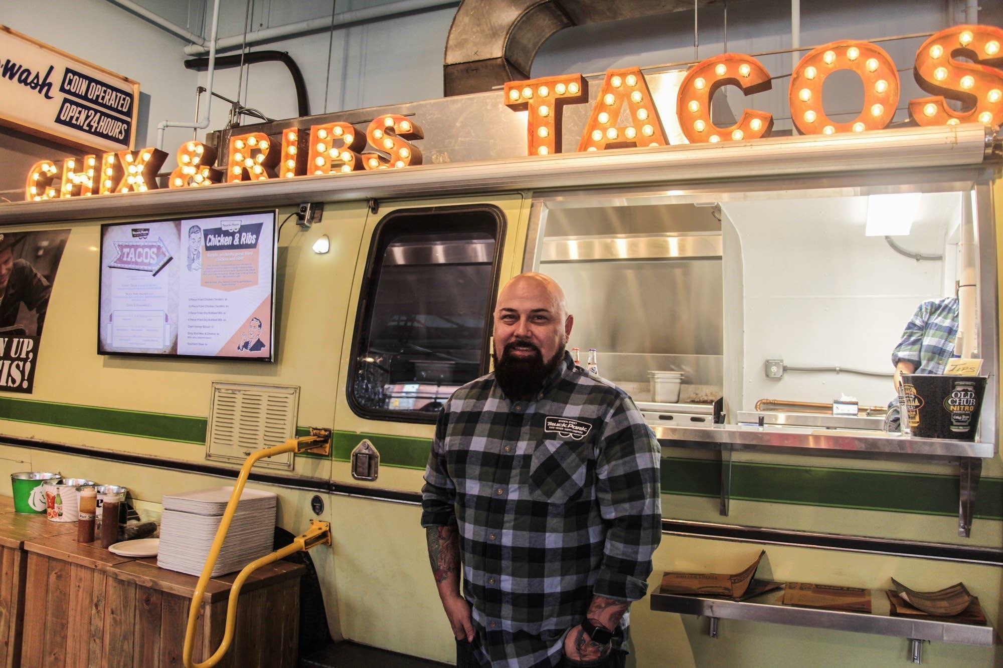 Brian Ingram, owner of Seventh Street Food Truck