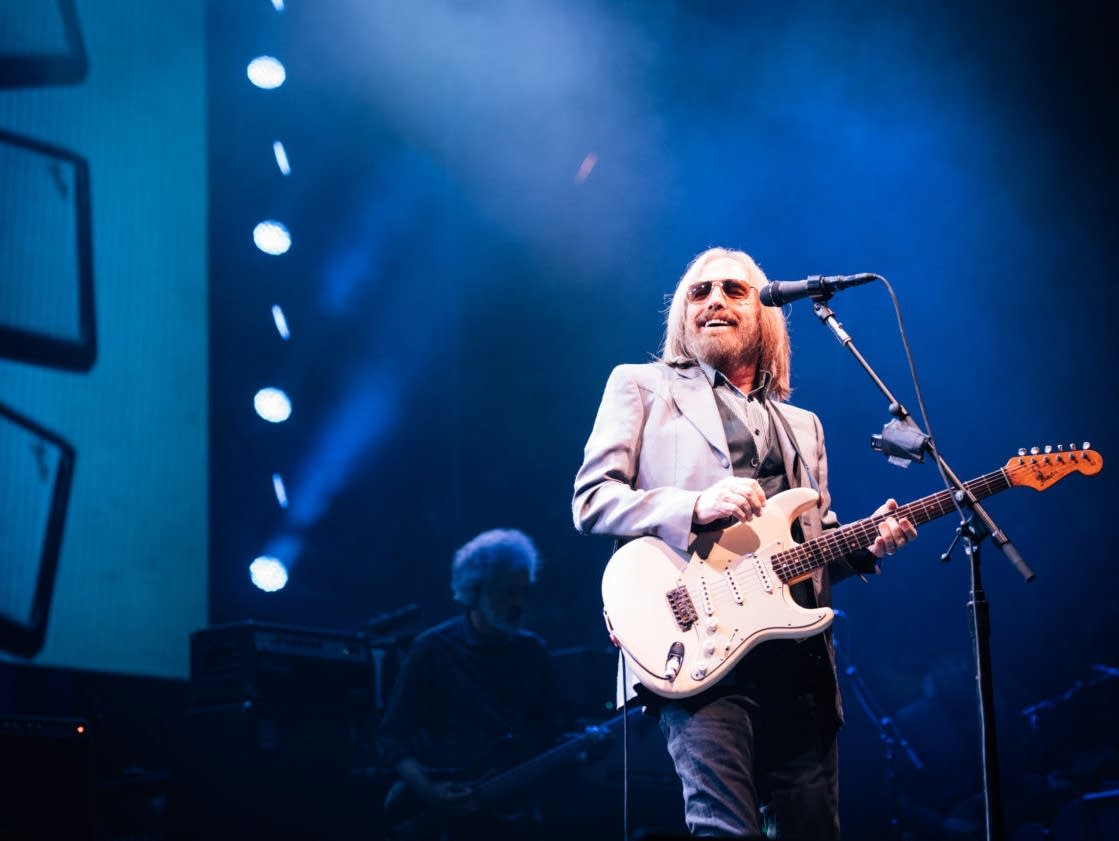 Tom Petty performs at the Xcel Energy Center in June 2017.