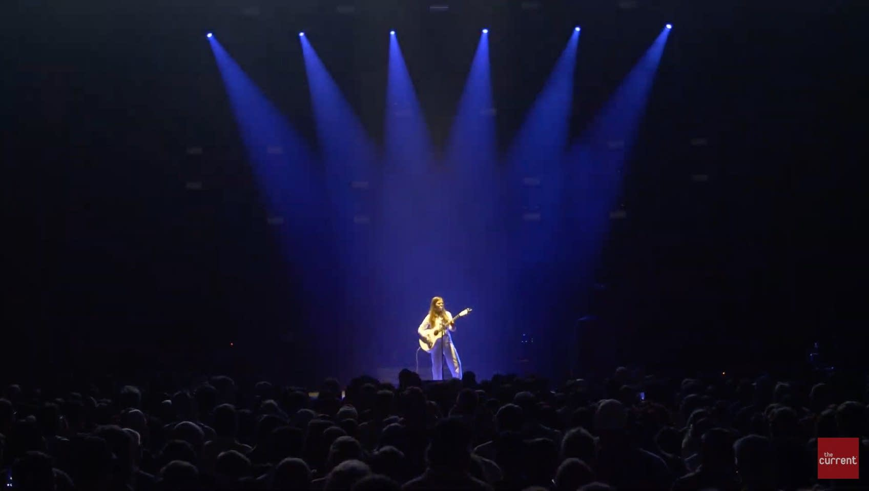 Jade Bird performs at the Armory in Minneapolis