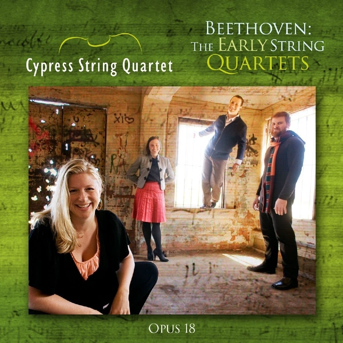 Cypress String Quartet Early Beethoven
