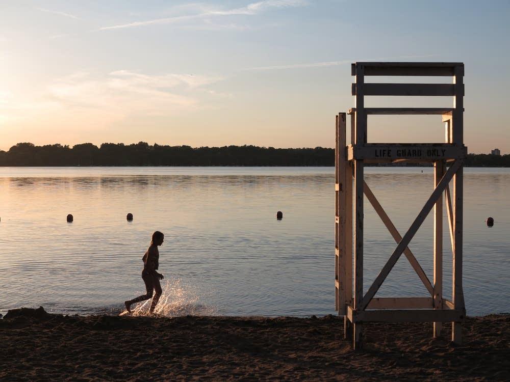 Lake Harriet beach