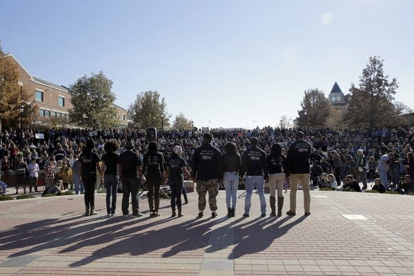 black student protest group