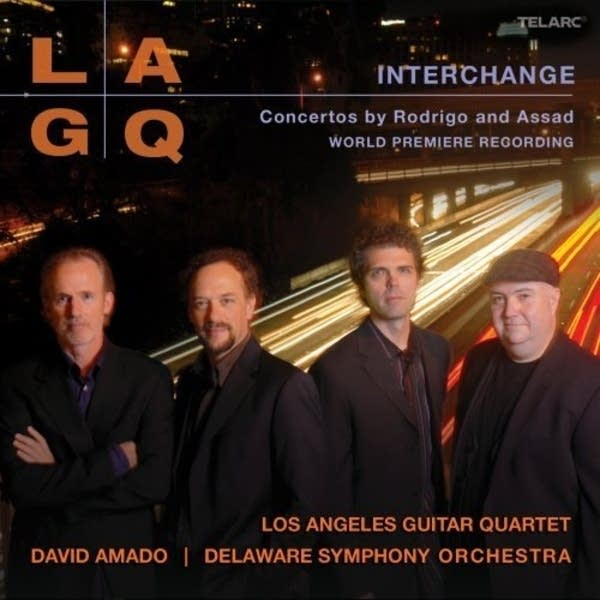 Los Angeles Guitar Quartet -- Interchange