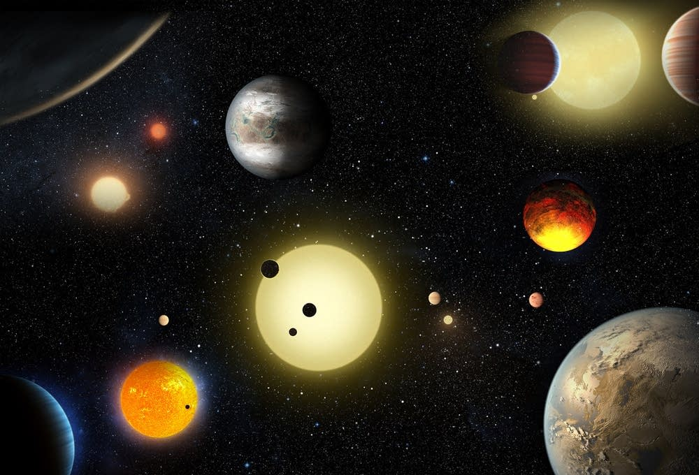 NASA spots 1,284 new planets, including 9 that are ...