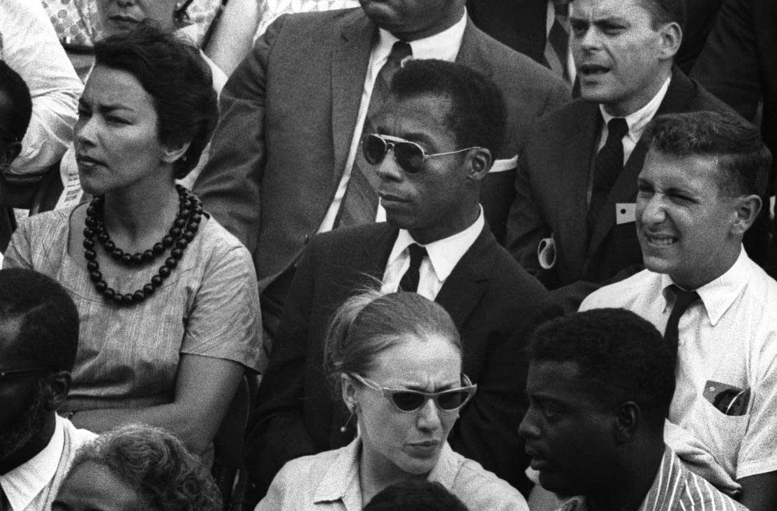 James Baldwin in