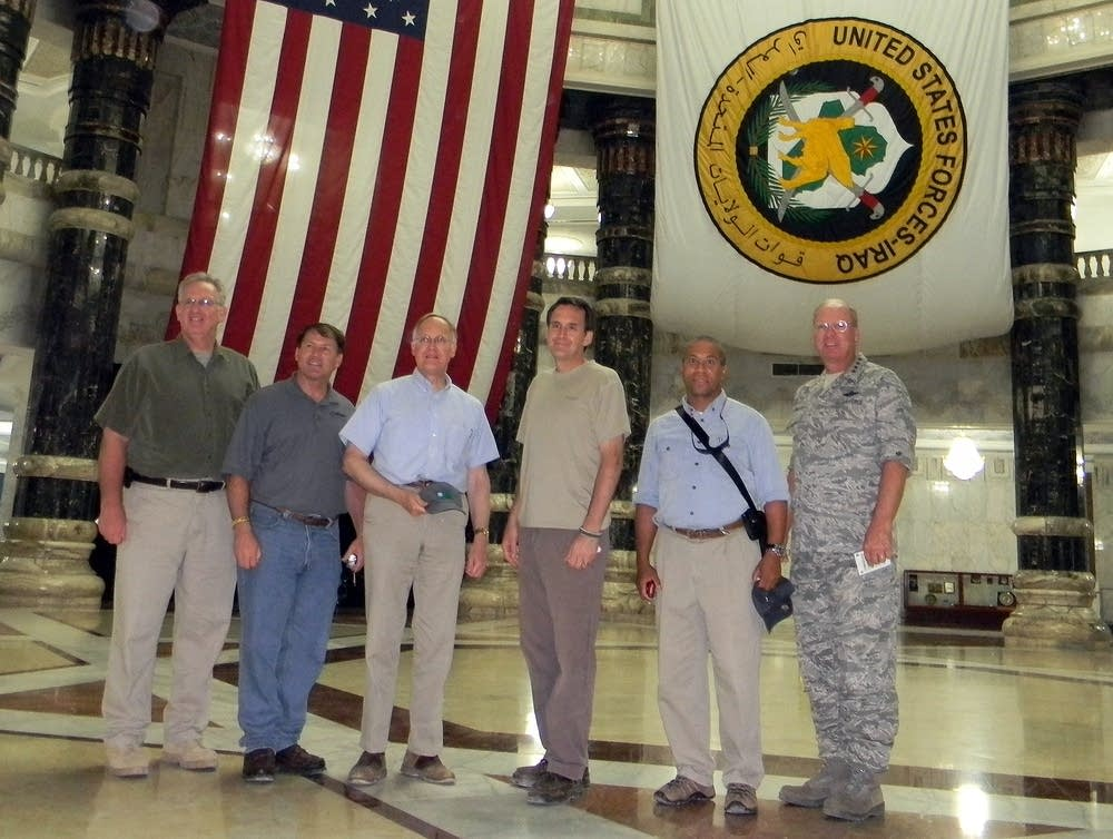 Pawlenty and other governors in Iraq
