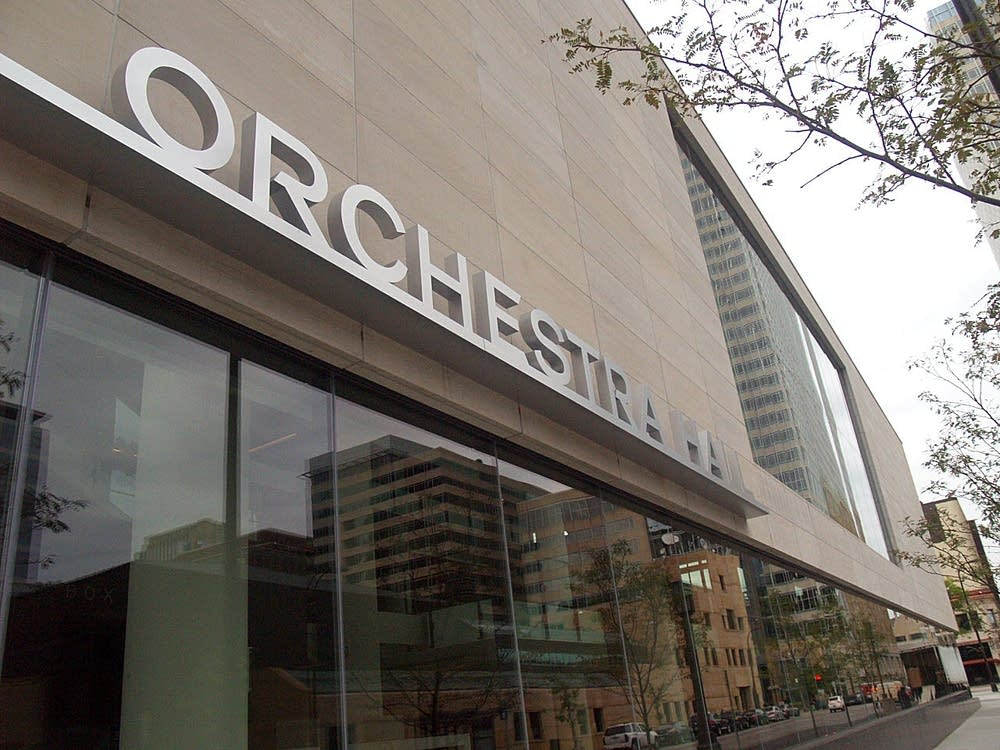 orchestra hall, exterior, new