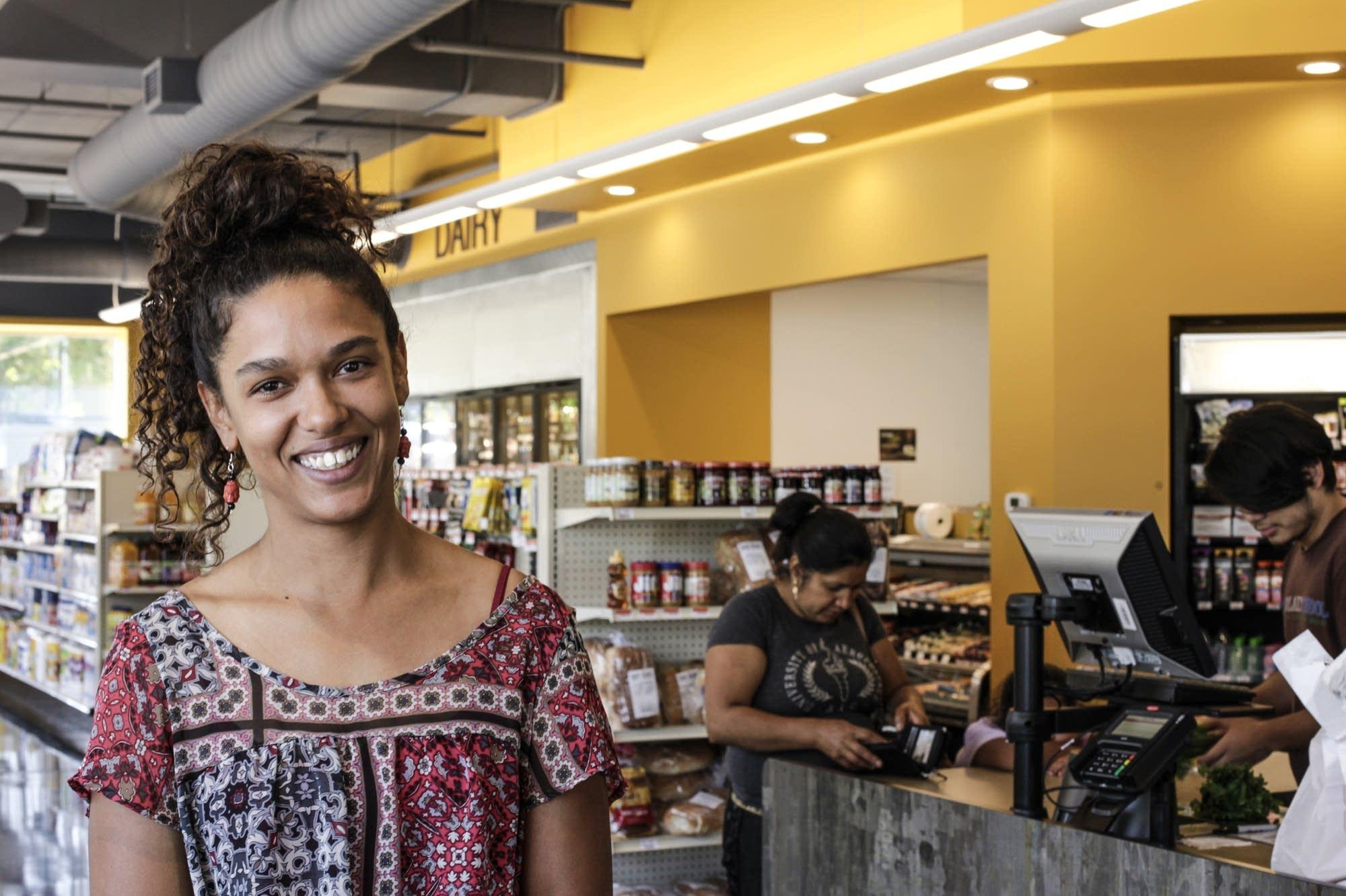 Kristel Porter, one of the co-op's board members