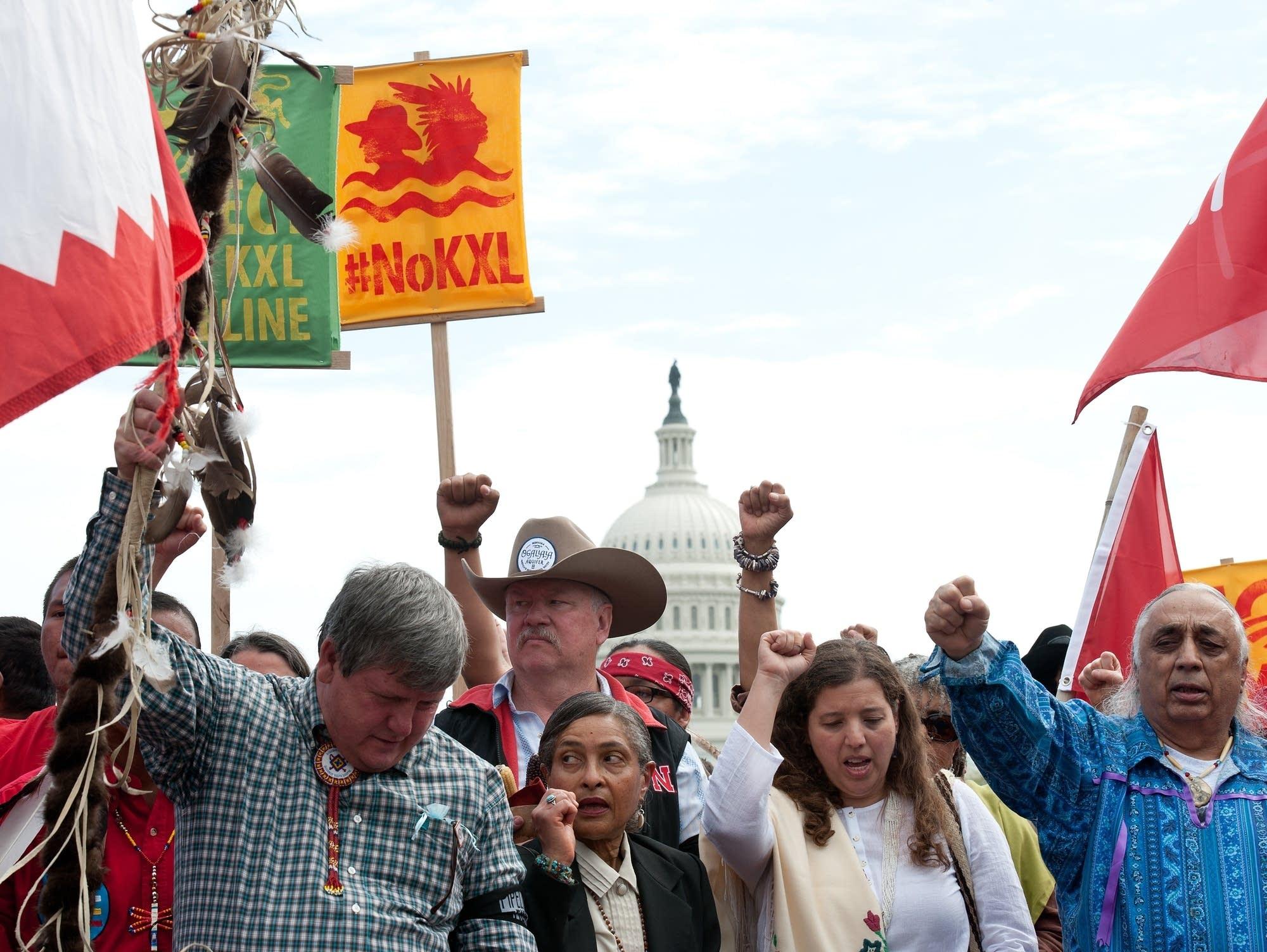 April 2014 protests in Washington, D.C.