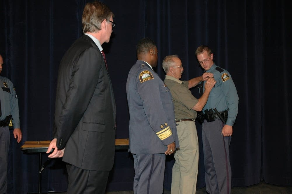 Getting the badge