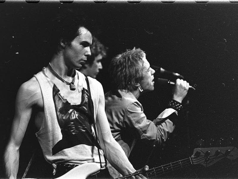 Sex Pistols in 1977
