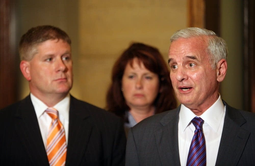 Dayton and GOP leaders