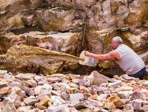 Erickson bails out the quarry