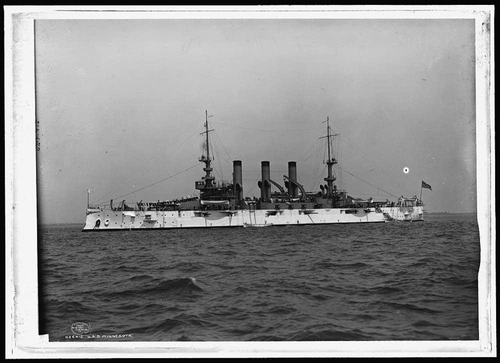 The second USS Minnesota