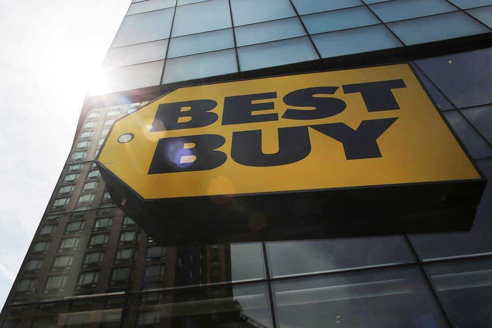 A Best Buy store in New York City