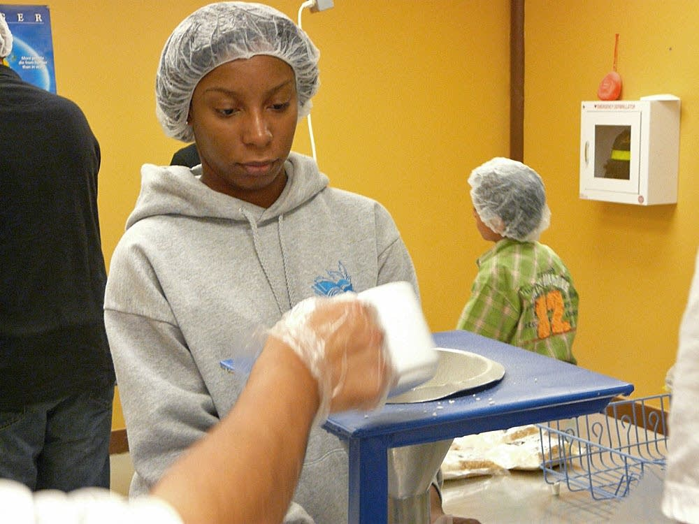 Tiara volunteering